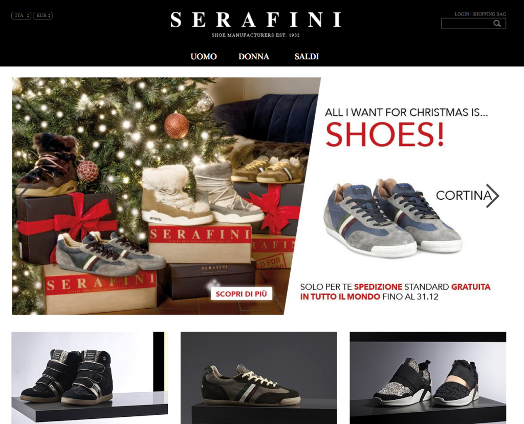 Serafini Shop - Luxury Shoe - Made in italy