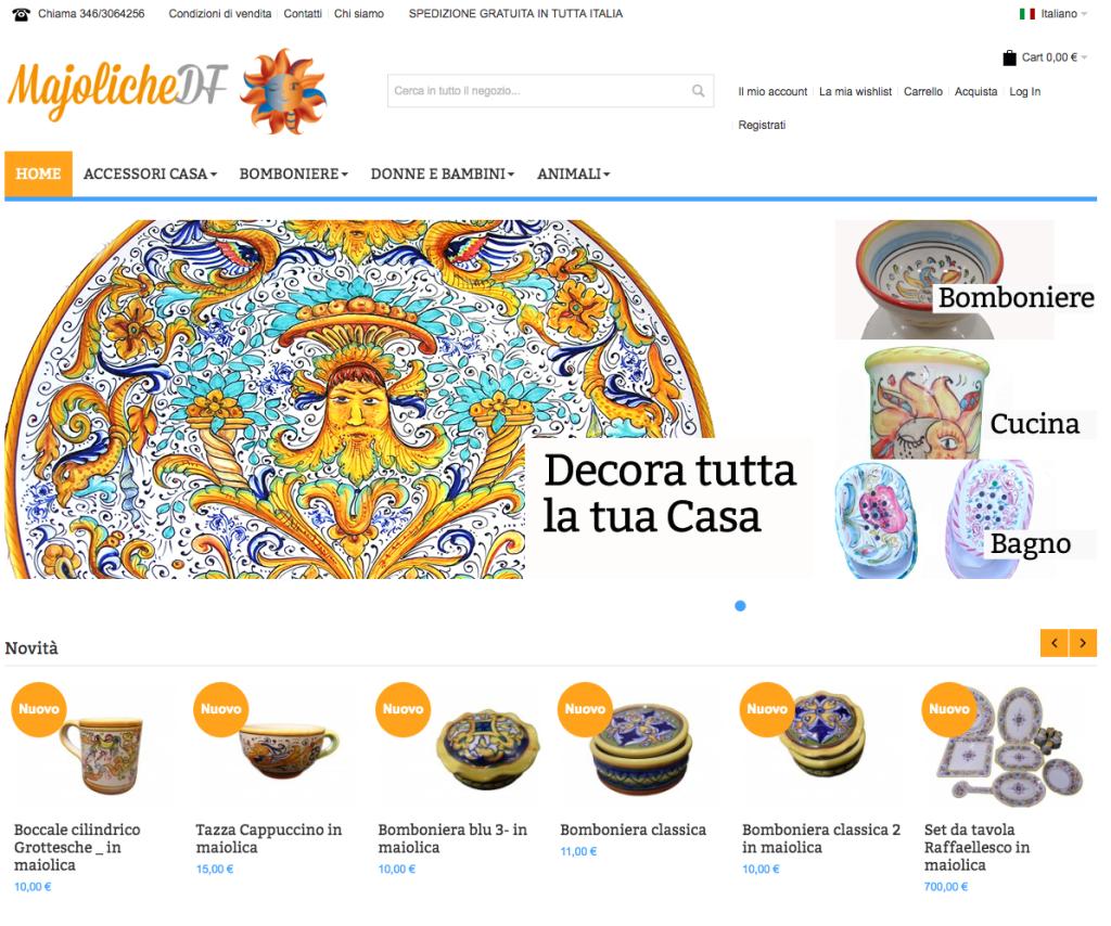 Maioliche Artigianali Made in Italy - www.majolichedf.com
