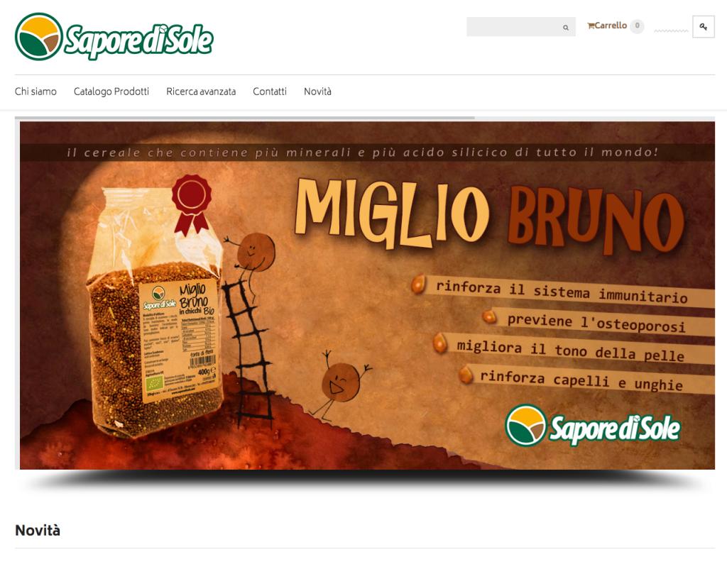 Negozio Prodotti Bio e specialità Toscane - saporedisole.com
