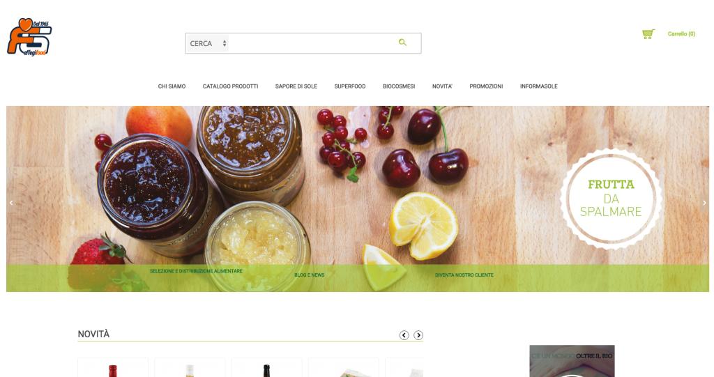 BtoB store Prodotti alimentari Bio - effegifood.com